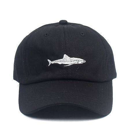 geiqianjiumai Gorra de béisbol Bordado con tiburón Gorra de ...