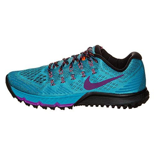 Nike Zoom Terra Kiger 3Zapatillas Deportivas, Azul/Vivid Purple