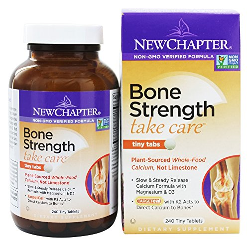 - New Chapter - Bone Strength Take Care Tiny Tabs - 240 Tablets LUCKY PRICE