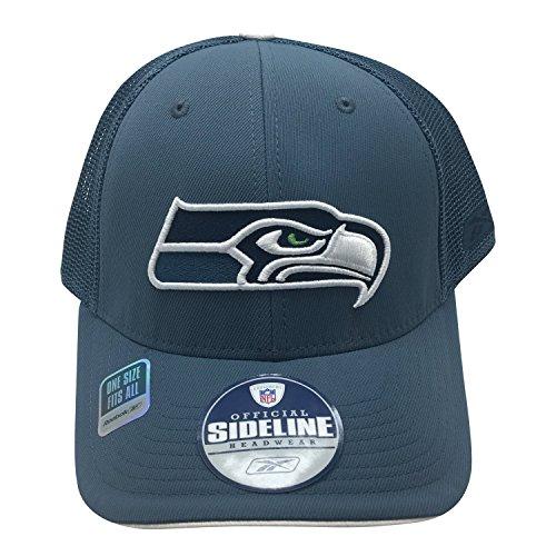 NFL Seattle Seahawks Sideline One Fit Flex Hat (Nfl Hats Reebok)