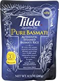 Tilda Legendary Rice Steamed Basmati, Pure, 8.5 Ounce (Pack of 6)