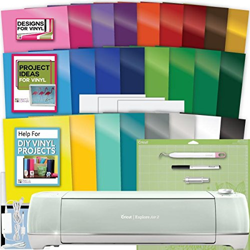 Circut Cricut Explore Air 2 Machine Bundle Large Vinyl