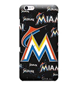 MLB-Miami Marlins Skin Tough Phone Case Covers,Stylish Protective Covers Compatible For iphone 6(4.7) by mcsharks