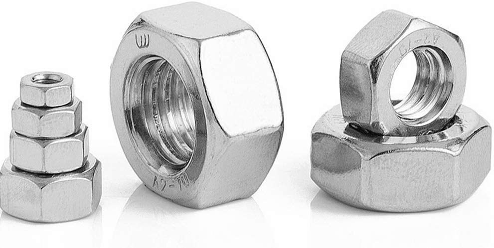 Stainless Hex Nut Pack of 50 M3