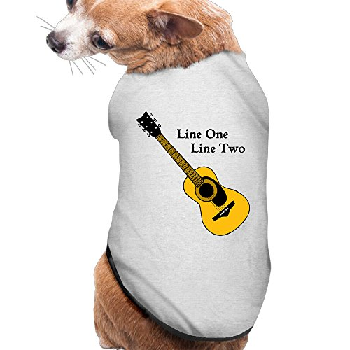 Line One Line Two Summer Costumes, Clothing, Shirt, Vest, T-shirt, Puppy Pet Dog Cat Fashion 100% Polyester Fiber Tee Gift For Any Animal Fan Lovers Ash (A Chorus Line Costumes)