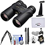 Nikon Monarch 7 10×42 ED ATB Waterproof/Fogproof Binoculars with Case + Harness + Smartphone and Tripod Adapters + Monopod + Cleaning Kit Review