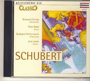Franz Schubert: Deuitscher Tanz Nr.1 C-dur; Heidenröslein; Ave maria; Der Lindenbaum u.v.m.