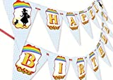 Wizard of Oz Happy Birthday Banner Pennant  sc 1 st  Amazon.com & Amazon.com: Wizard of Oz Small Paper Plates (8ct): Toys u0026 Games