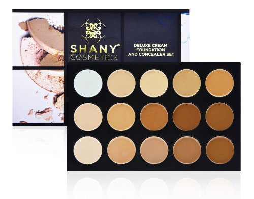 SHANY Cosmetics Professional Cream Foundation and Camouflage Concealer, 13 Ounce