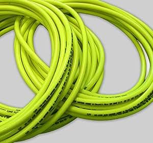 """40m 1/2""""(12.5mm) Hi-Vis Industrial 20bar compresor manguera de línea de aire/agua–aprobado por la FDA, Fluorescente trenzado PVC"""