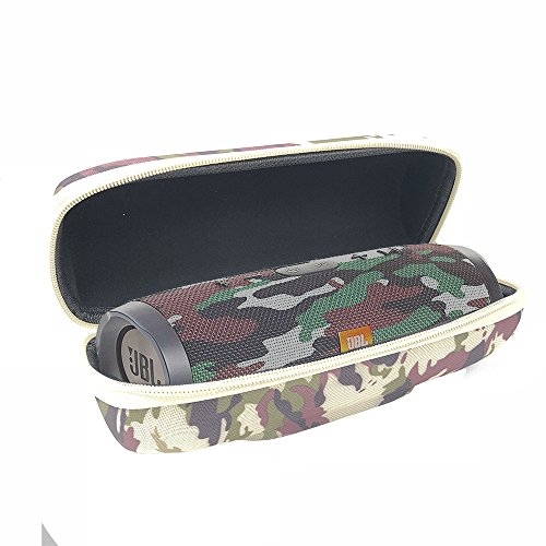 PU Hard Case Travel Carrying Storage Bag Cover for JBL Charge 3 Waterproof Portable Wireless Bluetooth Speaker (Camouflage)