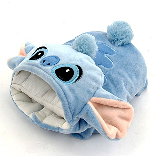 [TQIU Pet Costume Dog Clothes Puppy Hoodie Cat Apparel Design as Cartoon Stitch for Halloween Change Outfit] (Halloween Outfits For Dogs)