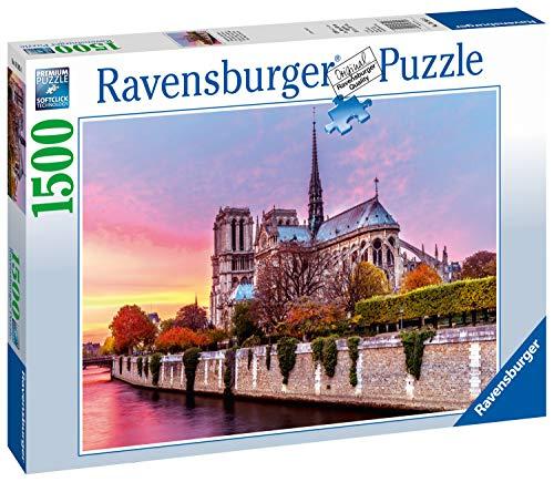 [해외]Ravensburger 163458 Picturesque Notre Dame 퍼즐 (1500피스) / Ravensburger 163458 Picturesque Notre Dame Puzzle (1500-Piece)