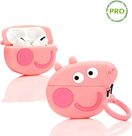 Faceless Man ZAHIUS Airpods Silicone Case Funny Cover Compatible for Apple Airpods 1/&2 Cartoon Pattern Best Gift for Girl Boy