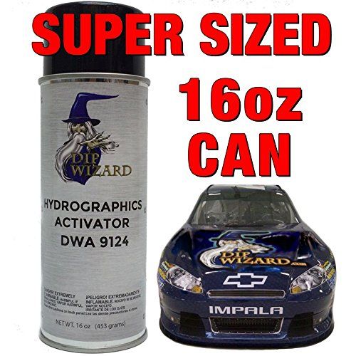 Hydrovator Super Sized 16 Oz Aerosol Spray Can Hydrographic Water Transfer Activator Hydro Dip Dipping by dip wizard hydrographic film activator