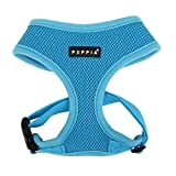 Puppia Soft Dog Harness, Sky Blue, X-Small
