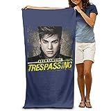 LCYC Adam Lambert Poster Adult Colorful Beach Or Pool Hooded Towel 80cm*130cm