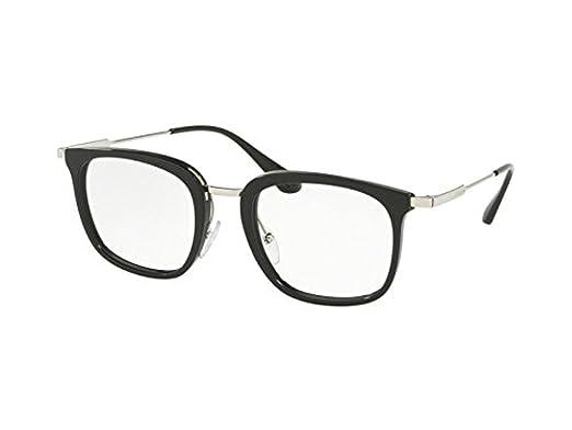 1920076ec1c Prada Men s PR 11UV Eyeglasses 51mm at Amazon Men s Clothing store