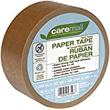 Caremail Self-Adhesive Paper Tape, 1.88 Inches x 40 Yards, Single Roll (1119059)