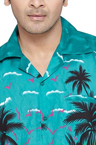 SWEET NECTAR Hawaiiisch drucken Herren Aloha Strand Hemd