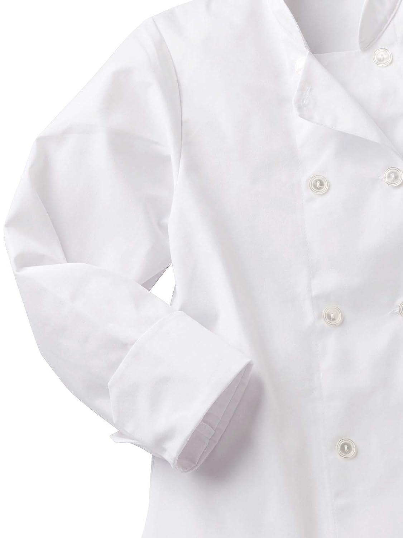 Five Star Chef Apparel Ladies 8 Button Jacket