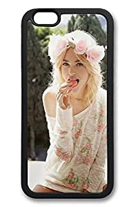 6 Plus Case, iPhone 6 Plus Case Cute Blonde Girl Flowers Hair Ideas TPU Silicone Gel Back Cover Skin Soft Bumper Case Cover for Apple iPhone 6 PlusMaris's Diary