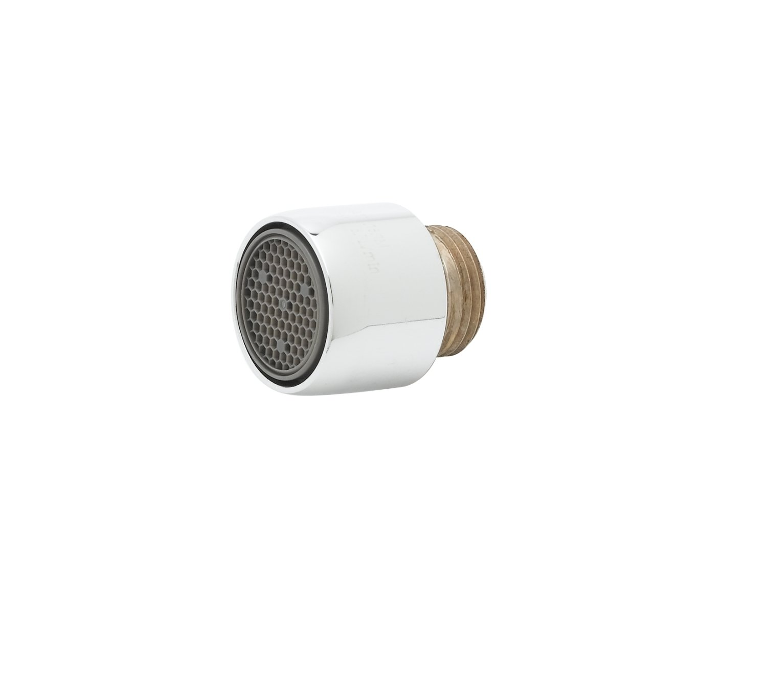 T&S Brass B-0199-02-F10 1.0 Gpm Aerator with  3/8-Inch Npsm Male Threads