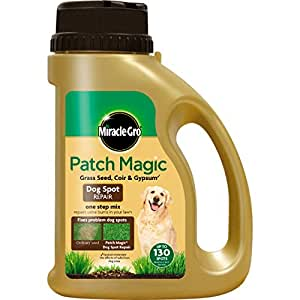 Scotts miracle gro miraclegro patch magic dog for Miracle magic bathroom