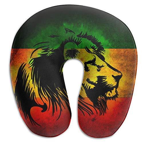 Rasta Lion Judah U-Shaped Pillows Comfortable Neck Pillow Travel Neck Pillow