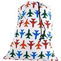 Kikkerland Travel-Size Laundry Bag, Airplanes