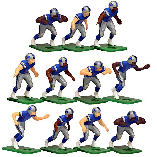 - Detroit Lions Home Jersey NFL Action Figure Set