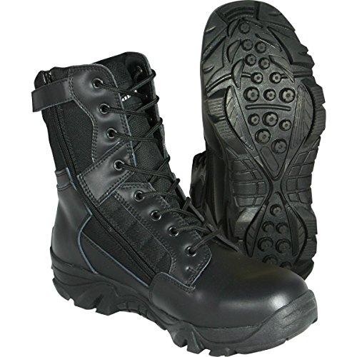 WebTex–Armée Recon Bottes–Noir–Nouveau–Cordura/Cuir–Patrol Cadet Size 7 UK noir