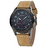 CURREN 8152 Men's Quartz Watches Top Brand Luxury Men Wristwatches Men Military Leather Sports Watch