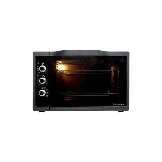 Rowenta OC385800 Gourmet - Horno de calor giratorio (40 L): Amazon ...