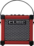 Roland 3W 1x5 Battery Powered Guitar Combo Amp Red