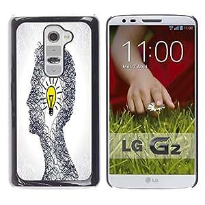 Dragon Case - FOR LG G2 - Bad times make good man - Caja protectora de pl??stico duro de la cubierta Dise?¡Ào Slim Fit