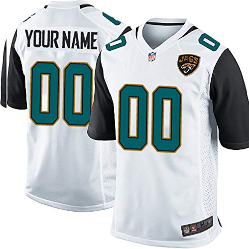 Officially Licensed NFL Football Player Jersey Customize Name + Number V Neck T Shirt for Adults Kids Youth