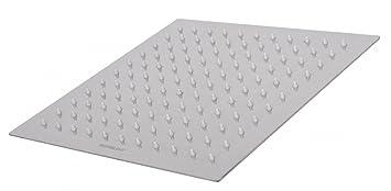 Wohnling Wl2.013 Luxus Edelstahl Einbau Regendusche - Regenbrause ... Quadratische Edelstahl Designer Duschkopf