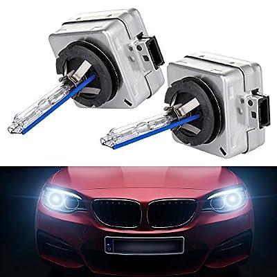 cciyu 2Pcs High Power D1S 35W 8000K 3600LM Factory OEM Replacement Headlight Light Bulbs: Automotive