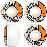 Spitfire Bighead Skateboard Wheel, White/Orange, 50mm