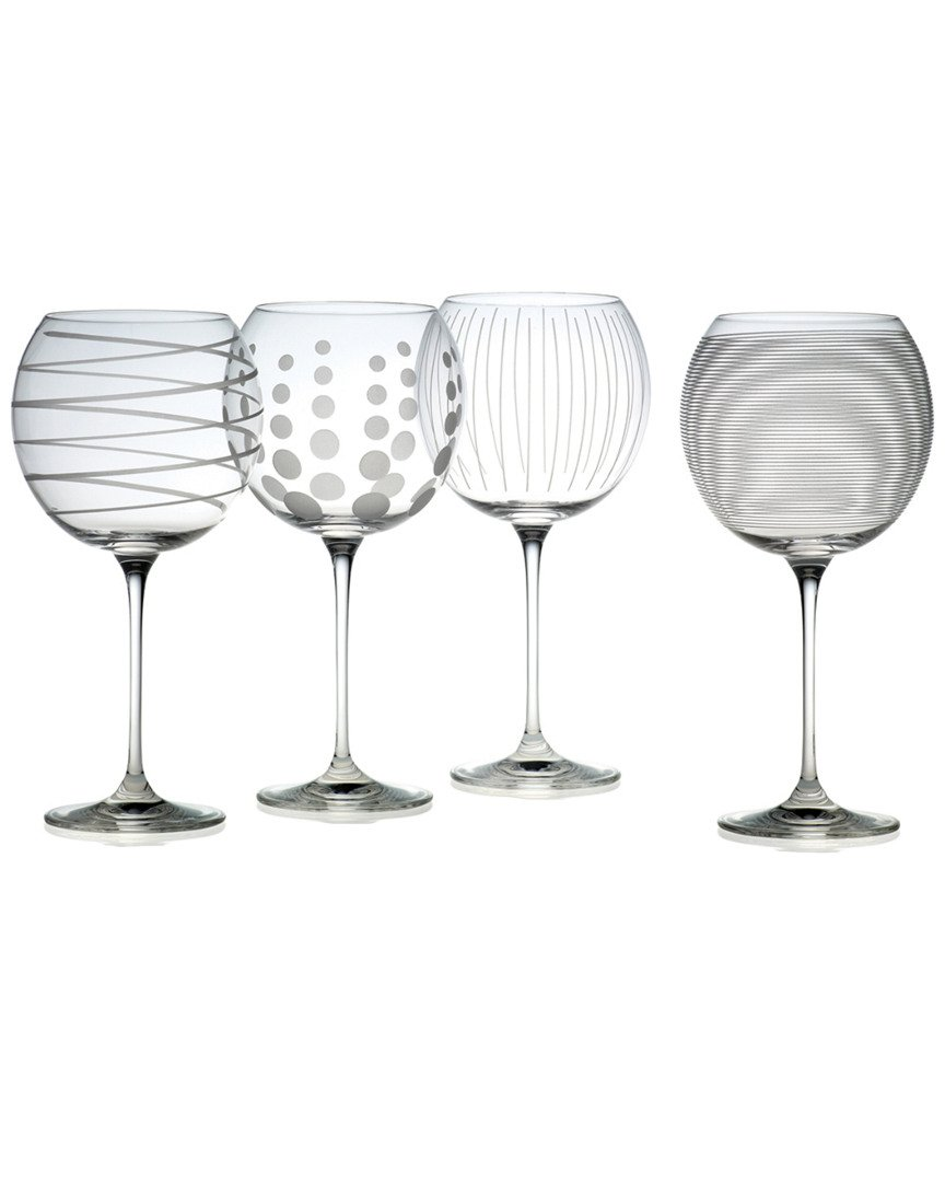 Mikasa Set Of 4 Cheers 24.5Oz Balloon Goblets