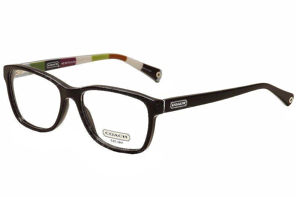 5c617adf7ea3 Amazon.com: Coach Julayne Eyeglasses HC6013 5002 Black Demo Lens 54 16 135:  Coach: Shoes
