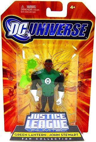 DC Universe Justice League Unlimited Fan Collection Action Figure Green Lantern John Stewart