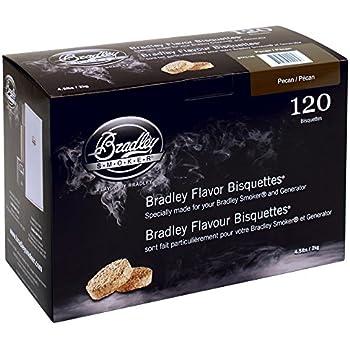 Bradley Pecan Bisquettes 120 pack