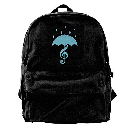 singing-in-the-rain-menswomens-large-vintage-canvas-backpack-school-laptop-bag-hiking-travel-rucksac