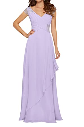 La Mariee Deep V-Neck Appliques Lace Prom Party Dresses with Shinning Beading-2
