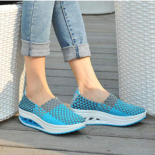 Fashion Women's Shake Shoes Ventilate Fitness Sports Shoes Casual Sneakers