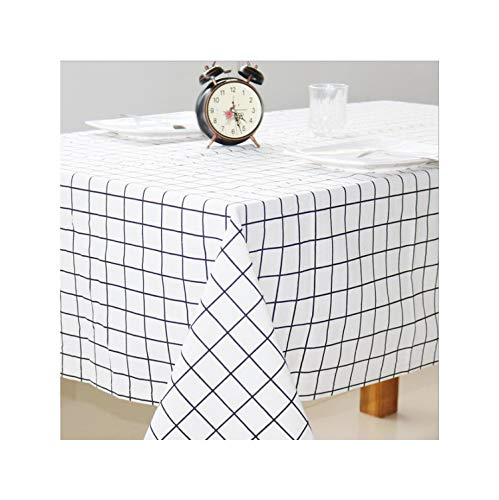 Printed Patterns Table Cloth Cotton Linen Dining Decorated Mediterranean Style Can Wash The Tablecloth,Table - 7 Decorated Journal
