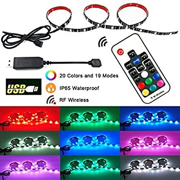 Amazon rgb usb led strip light airgoo agusb0002 2017 new rgb usb led strip light airgoo agusb0002 2017 new design 328ft flexiable mozeypictures Image collections