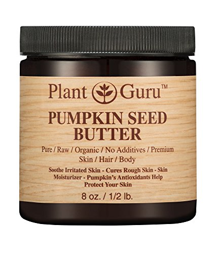 Pumpkin Seed Body Butter 8 oz. 100% Pure Raw Fresh Natural Cold Pressed. Skin Body and Hair Moisturizer, DIY Creams, Balms, Lotions, Soaps.